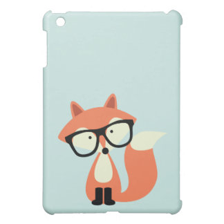 Cute Hipster Red Fox Cover For The iPad Mini