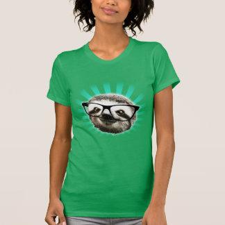 Cute Hipster Sloth Tee Shirts