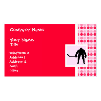 Cute Hockey Double-Sided Standard Business Cards (Pack Of 100)