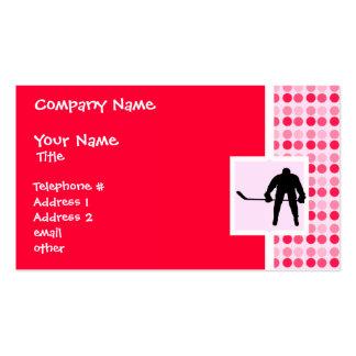 Cute Hockey Business Card Templates