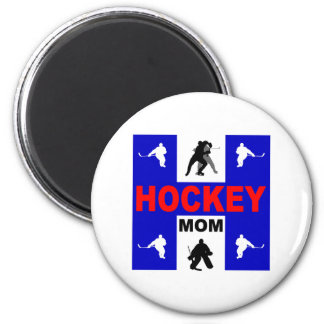 Cute hockey magnet