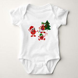 Cute Holiday Christmas Monsters Tee Shirt