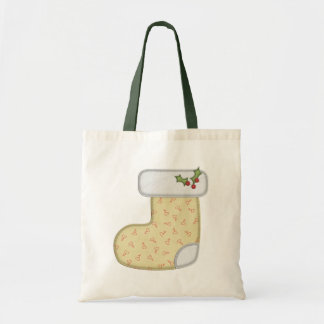 Cute Holiday Stocking Gift Bag