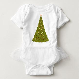 Cute Holiday Tree Christmas TuTu T Shirts