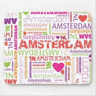 Cute holland amsterdam souvernir mousepad