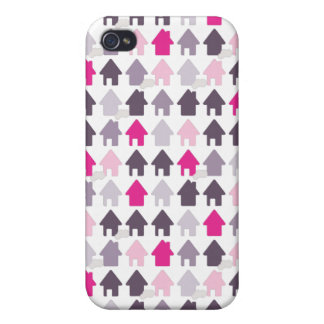 Cute home pattern iphone case iPhone 4/4S cover
