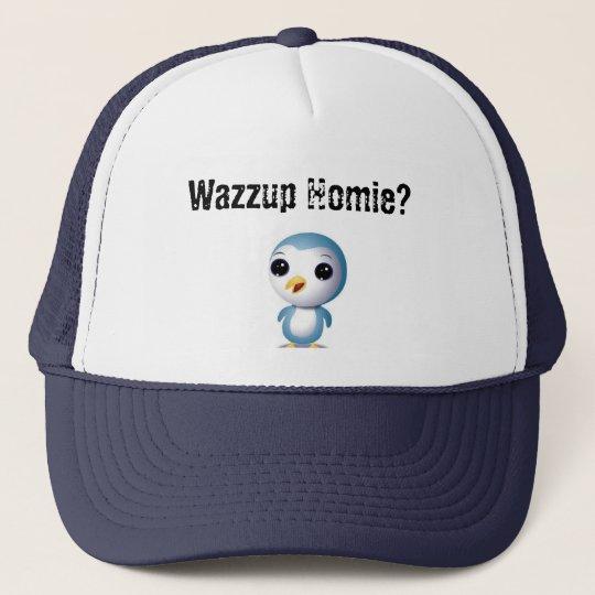 Cute Homie Penguin 2 Cap