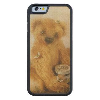 Cute Honey Bear Teddy Maple iPhone 6 Bumper Case
