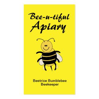 Cute Honey Bee Business Cards Apiary Bee Keeping
