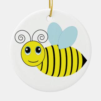 Cute Honey Bee Christmas Ornament