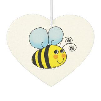 cute honey bumble bee car air freshener
