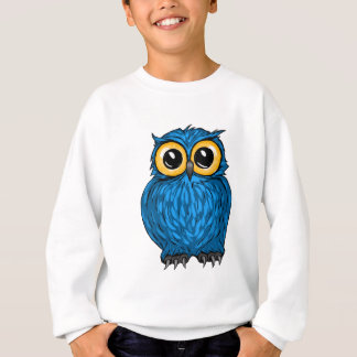 Cute Hoot Blue Owl Sweatshirt
