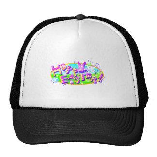 Cute Hoppy Easter Bunny Design Cap