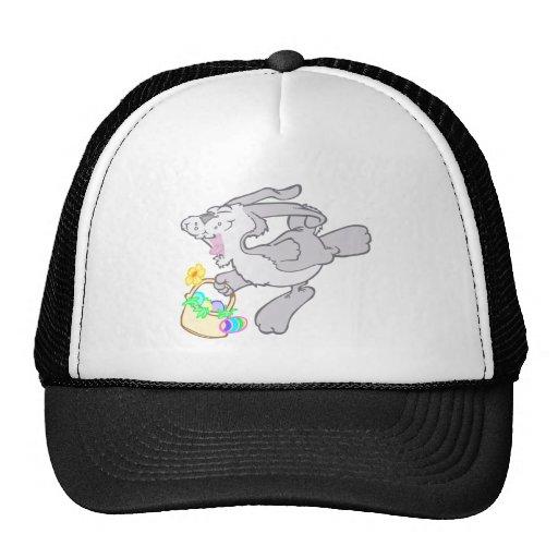 Cute Hoppy Easter Bunny Design Hats
