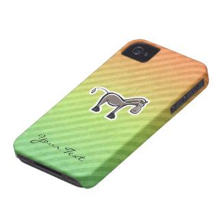 Cute Horse Colorful Case-Mate iPhone 4 Case