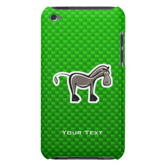 Cute Horse Green iPod Touch Cover