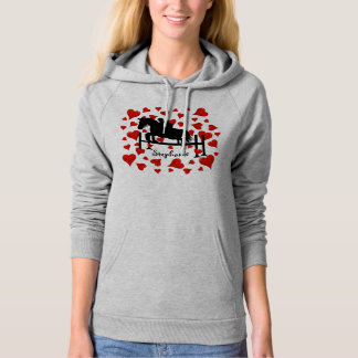 Cute Horse Jumper and Hearts Hoodie
