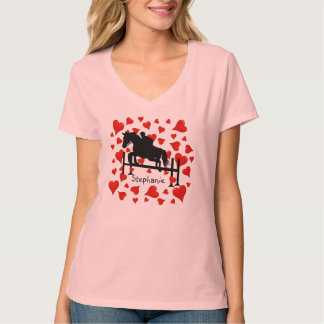 Cute Horse Jumper and Hearts T-shirt
