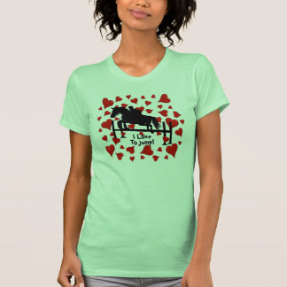 Cute Horse Jumper and Hearts Tee Shirt