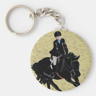 Cute Horse Show Equestrian Keychains