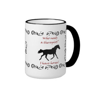 Cute Horse Therapist Mug