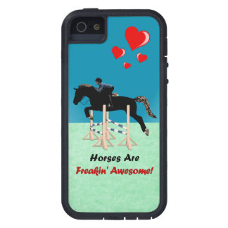 Cute Horses Are Freakin Awesome iPhone 5 Covers