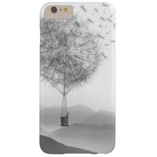 Cute Hot Air Balloon Dandelion Seeds Blowing Barely There iPhone 6 Plus Case