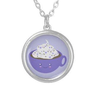 Cute Hot chocolate Custom Necklace