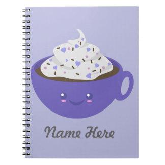 Cute Hot chocolate Notebook