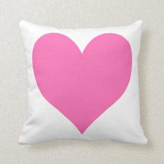 Cute Hot Pink Heart Cushion