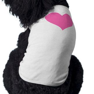 Cute Hot Pink Heart Shirt