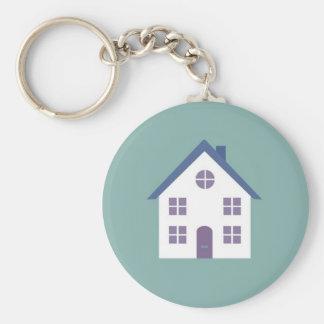 Cute house key chain