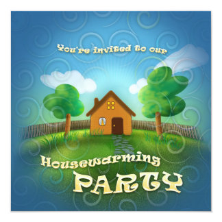 Cute Housewarming Party Invitation