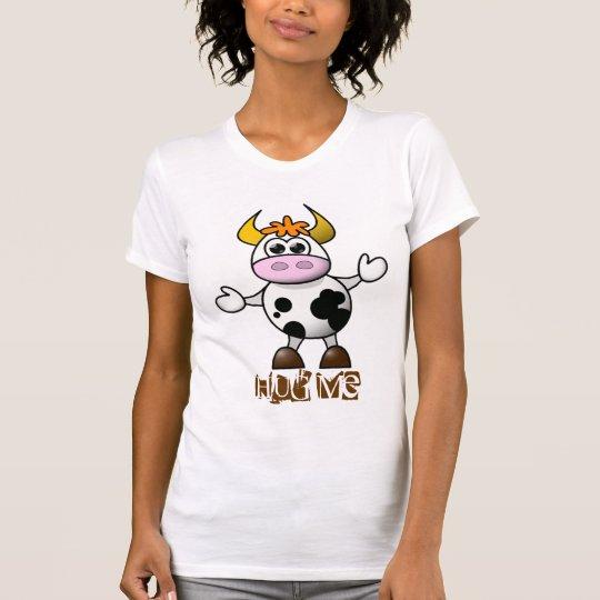 Cute Hugs Cow T-Shirt