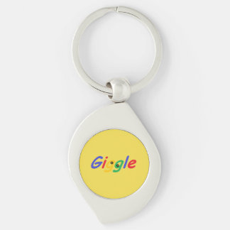 Cute, humorous and colorful key ring