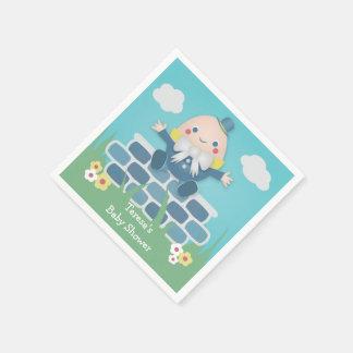 Cute Humpty Dumpty Baby Shower Paper Napkins Paper Napkin