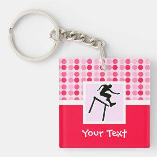 Cute Hurdler Keychain