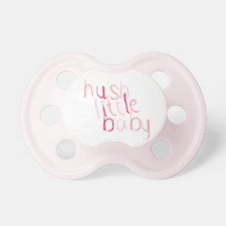 Cute Hush Little Baby Dummy Pacifier