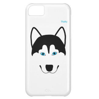 Cute Husky dog breed image iPhone 5C Cases