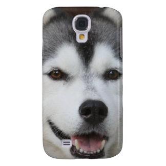 Cute Husky Galaxy S4 Case