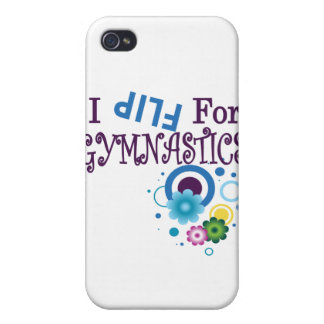Cute I Flip for Gymnastics I Phone Cover iPhone 4 Covers