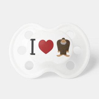 CUTE! I LOVE <3 BIGFOOT design - Finding Bigfoot Dummy