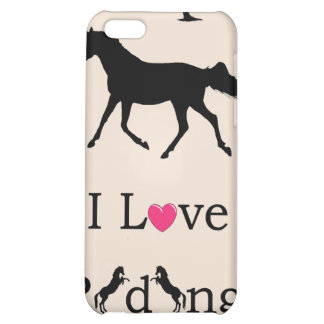 Cute I Love Riding Horse 4 4S iPhone 5C Covers