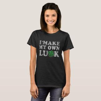 Cute I Make My Own Luck Irish T-Shirt
