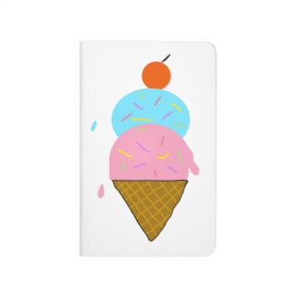 Cute Ice Cream Journal for Kids