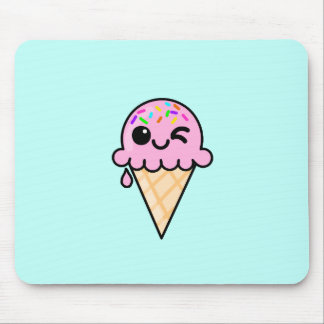 Cute Ice Cream Mouse Pad