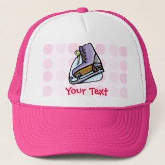 Cute Ice Skate Trucker Hat