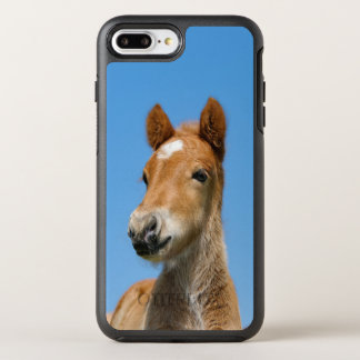 Cute Icelandic Horse Foal Pony Head Front Photo - OtterBox Symmetry iPhone 8 Plus/7 Plus Case