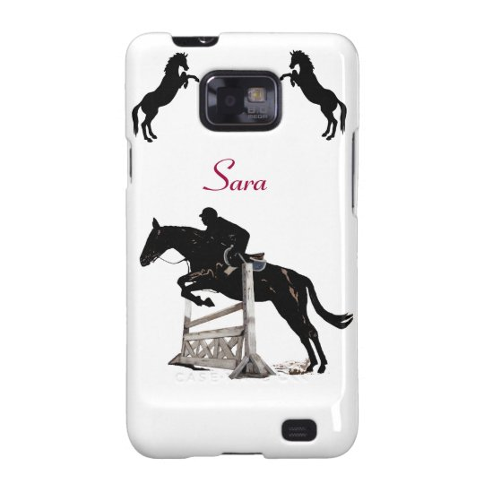 Cute iJump Horse Samsung Galaxy S2 Case