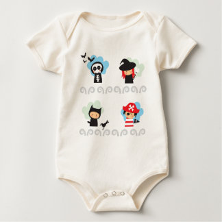 Cute Infant Organic Baby Bodysuit